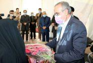 قدردانی از مادران شهداء در شهرستان قرچک