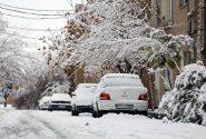 برف در فیروزکوه،سوز در ورامین