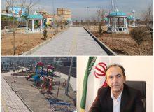 پیشرفت ۹۰ درصدی بوستان روستای قشلاق جیتوی قرچک