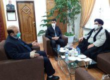 دیدار امام جمعه موقت ورامین با معاون آستان قدس رضوی در مشهد