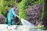 انشعابات غیرمجاز آبیاری فضای سبز در قرچک جمع آوری شدند